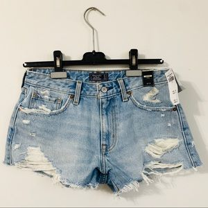 Abercrombie & Fitch | NWT Low Rise Denim Shorts